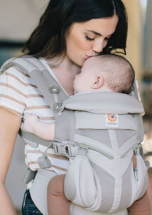 77ce8c61012 Ergobaby Carrier OMNI 360 Cool Air Mesh Pearl Grey - Dragenenzo ...
