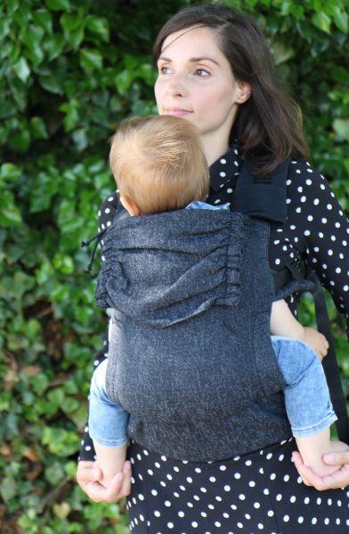 Yaro Flex Baby Carrier Jeans Black Grey