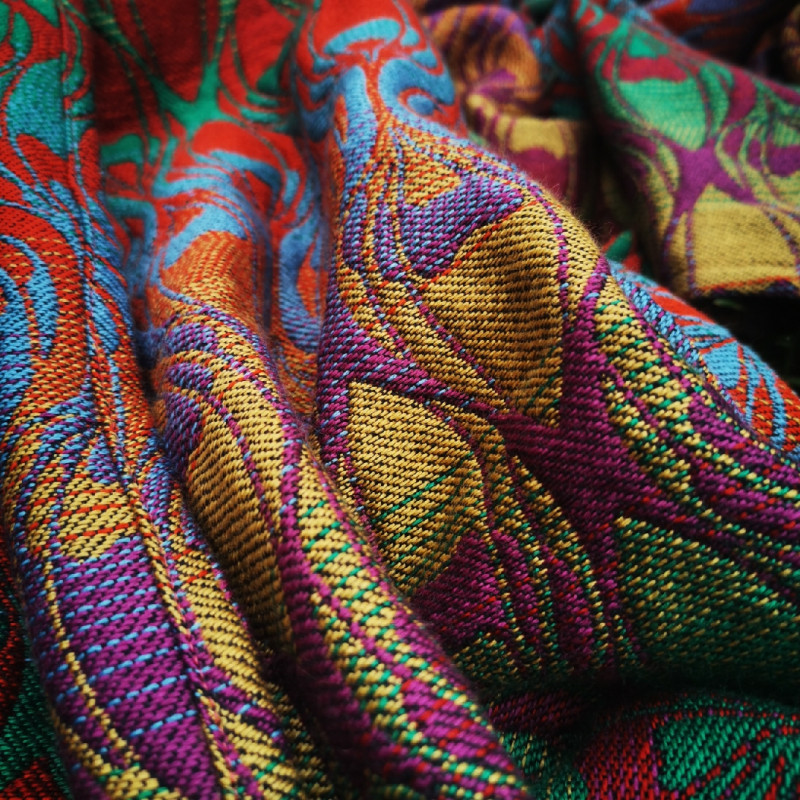 Ringsling Yaro La Fleur Trinity Nutcracker Rainbow High Wool