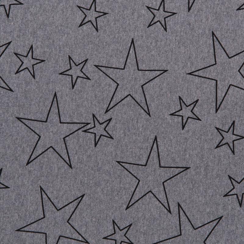 Poppendraagdoek Hoppediz Grey Stars