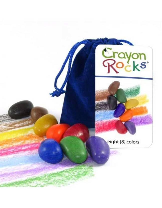 Crayon Rocks Blauw Fluweel 8 Kleuren
