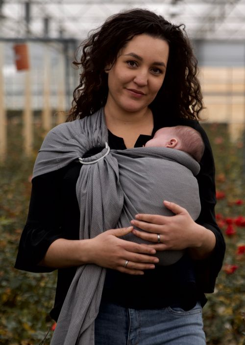 Ringsling Pure Baby Love Charcoal