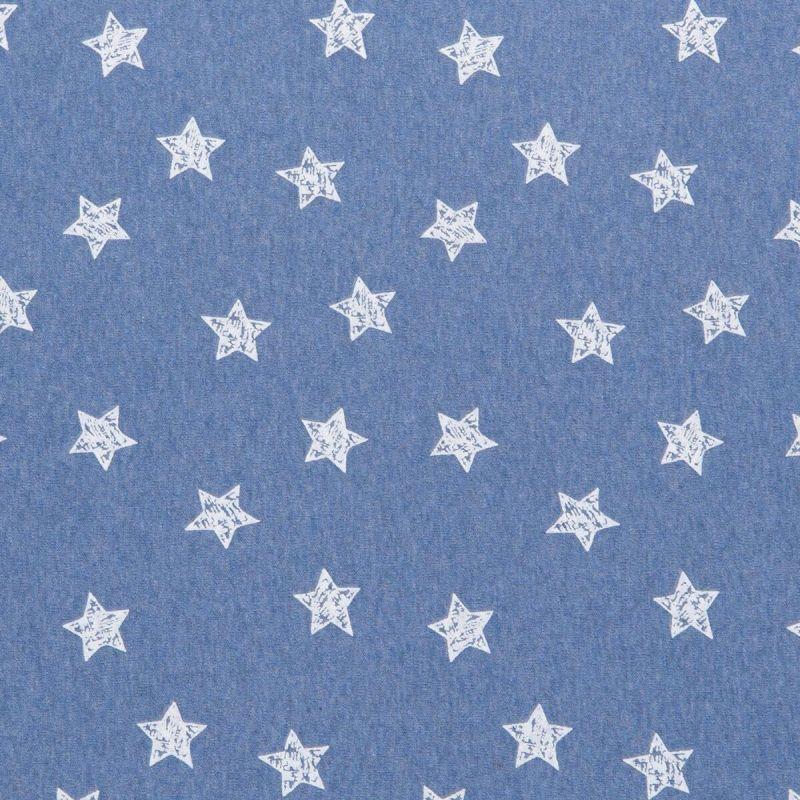 Poppendraagdoek Hoppediz Blue Stars