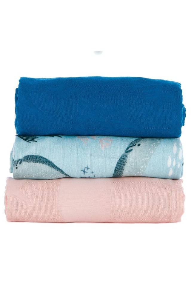Tula Blanket Set Narwhal