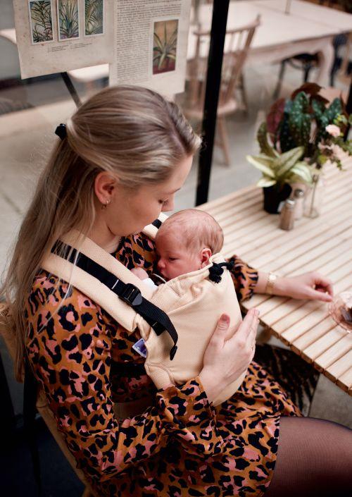 Pure Baby Love Cross & Go Baby Ocher Yellow