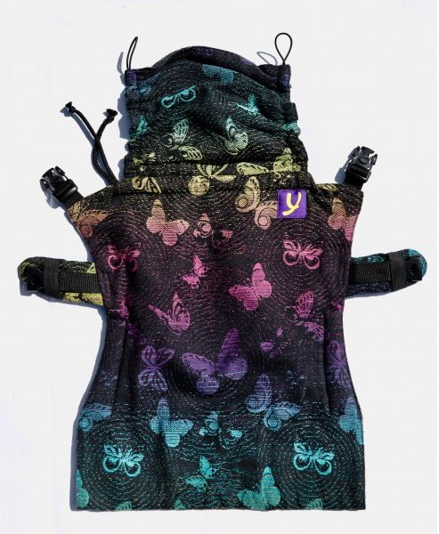 Yaro Flex Toddler Carrier Woodland Duo Black Lights Rainbow