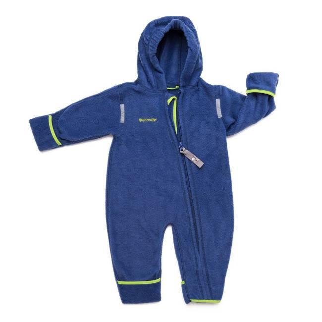 Hoppediz Fleece-Overall Blauw