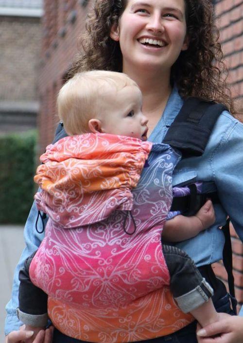 Yaro Flex Baby Carrier Elvish Marbella Grad