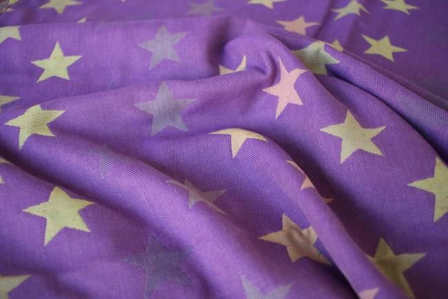 Yaro Stars Ultra Purple Yellow Confetti