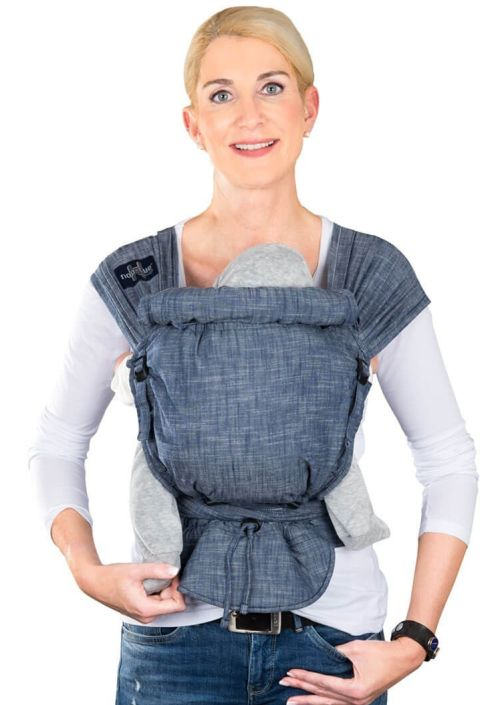 Hop-Tye Buckle Poplin Denim