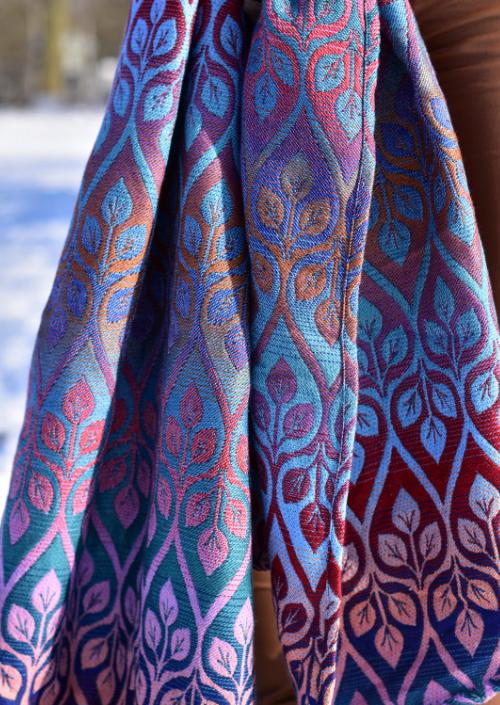 Ringsling Yaro La Vita Trinity Lavender Rainbow High Wool