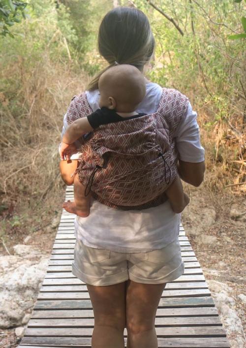 Neko Half Buckle Baby Lycia Terracotta