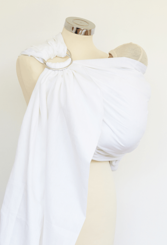 Calin Bleu Ringsling Classic White