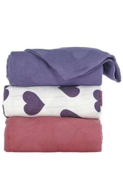 Tula Blanket Set Love Violette