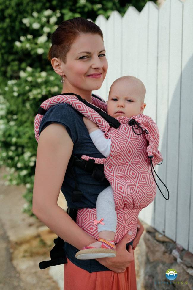 Little Frog Carrier Red Cube