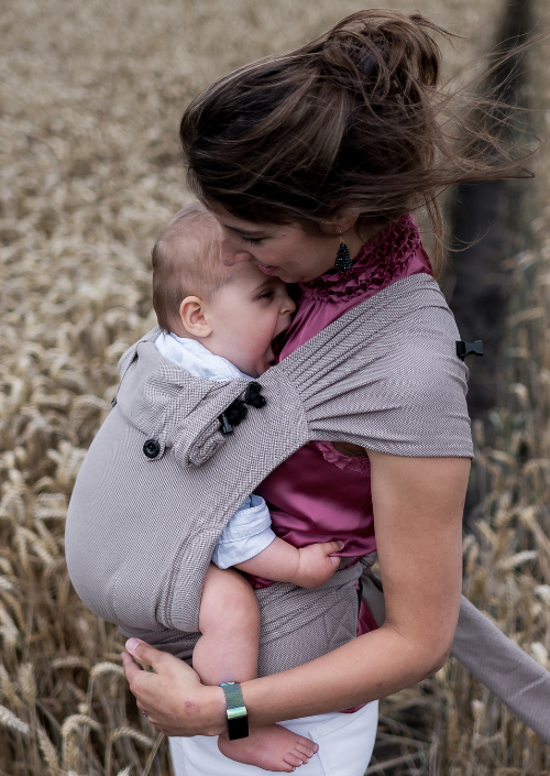 Pure Baby Love Wrap & Go Baby Brown