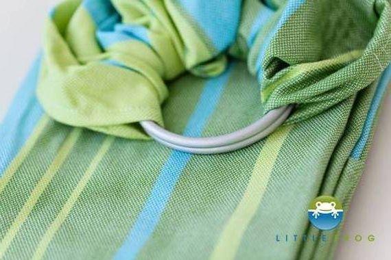 Ringsling Little Frog Bamboo Turquoise