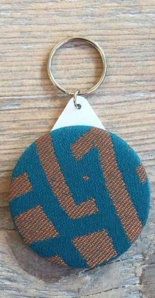 Slingmirror Yaro Braid Teal Orange Wool