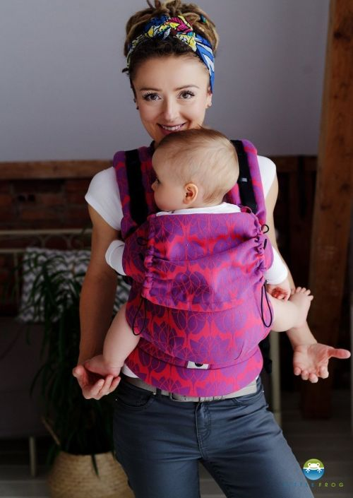 Little Frog Baby Carrier Tulip Fields