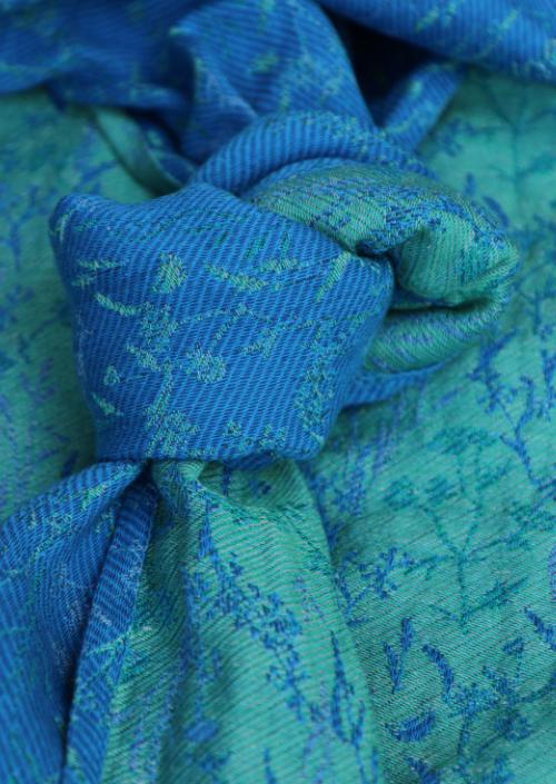 Ringsling Yaro Terra Duo Blue Grass Linen Tencel