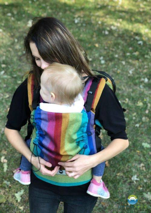 Doekenbieb: Little Frog Baby Carrier