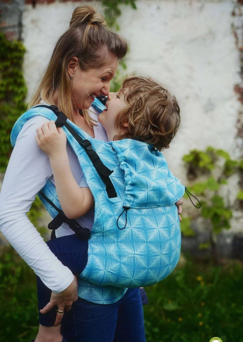 Little Frog XL Toddler Carrier Blue Glimmer