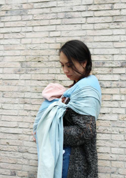 Ringsling Yaro Newborn Blue