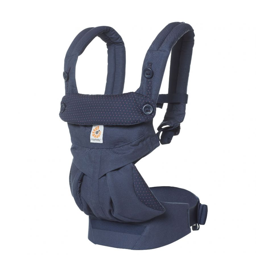 Ergobaby Carrier OMNI 360 Navy Mini Dots