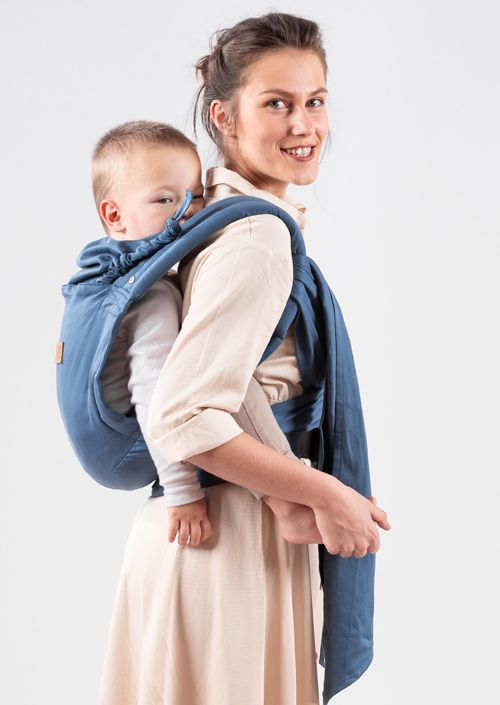 Isara Quick Half Buckle Carrier Bluestone