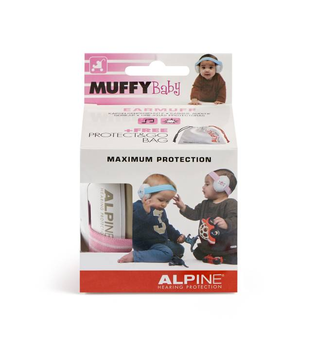 Alpine Muffy Baby pink pack