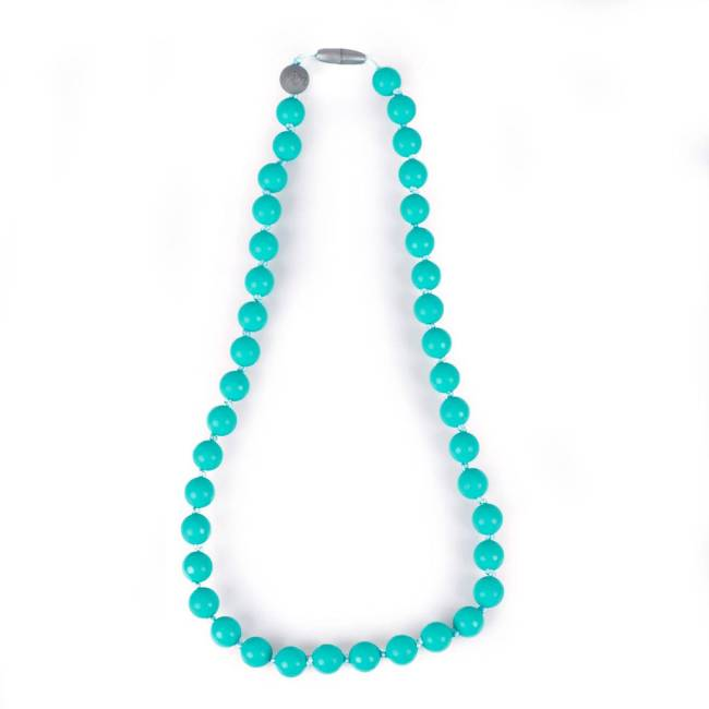 Itzy Ritzy Ketting Rond Turquoise