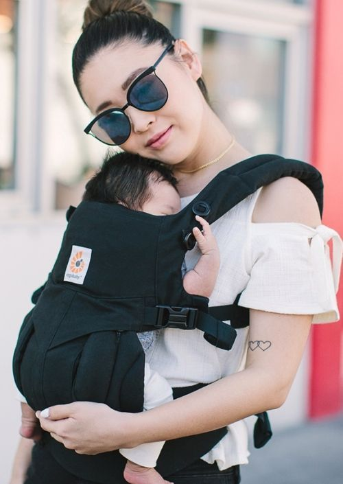 Ergobaby Carrier 4P OMNI Pure Black