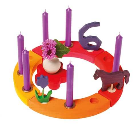 Grimm's Verjaardagsring Geel-Oranje-Rood