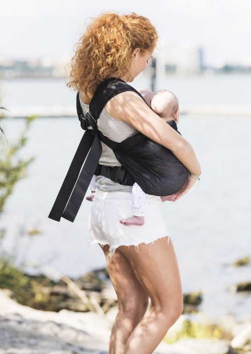 MiniMonkey Twin carrier met Mesh