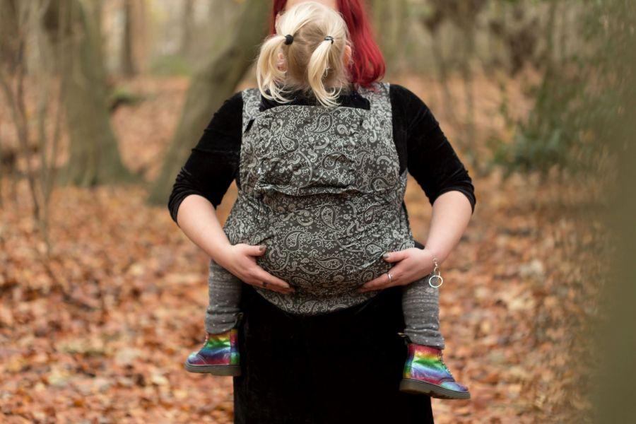 Neko Half Buckle Toddler Efes Paisley Hazel Dark