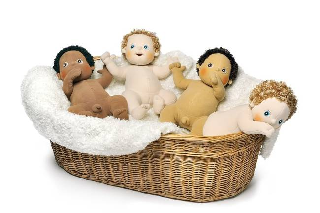 Rubens Baby's zonder kleertjes
