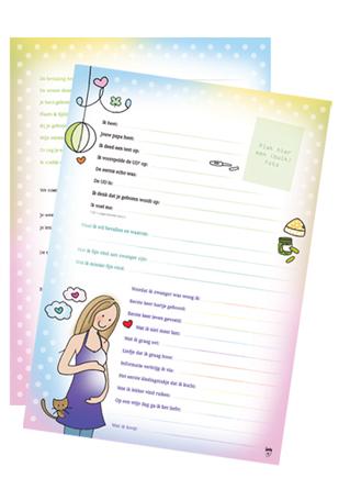 Zwangerschaps-Invulkaart