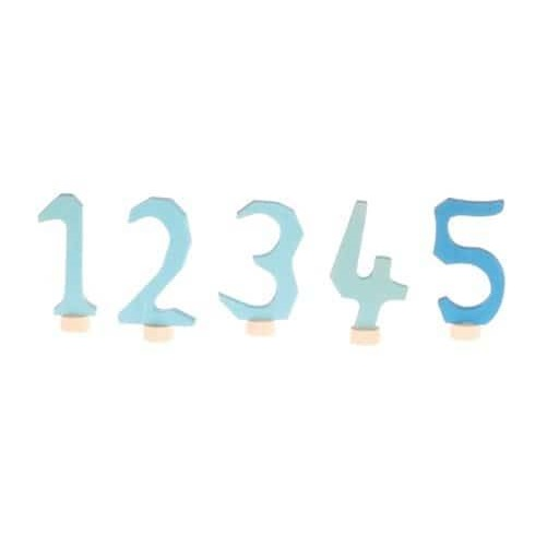 Grimms Set Blauwe Jaarringstekers 1-5 04403