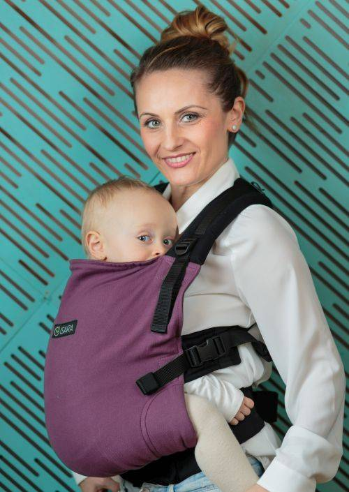 Isara V3 Half Wrapconversion Burgundivine Standard Toddler