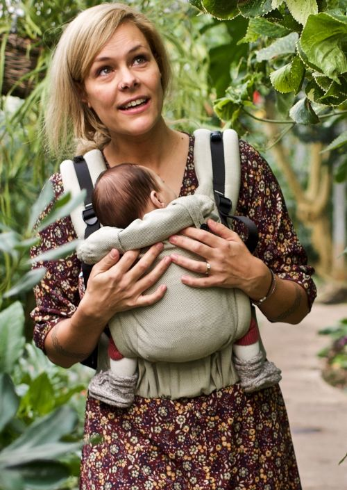 Pure Baby Love Click & Go Baby Olive