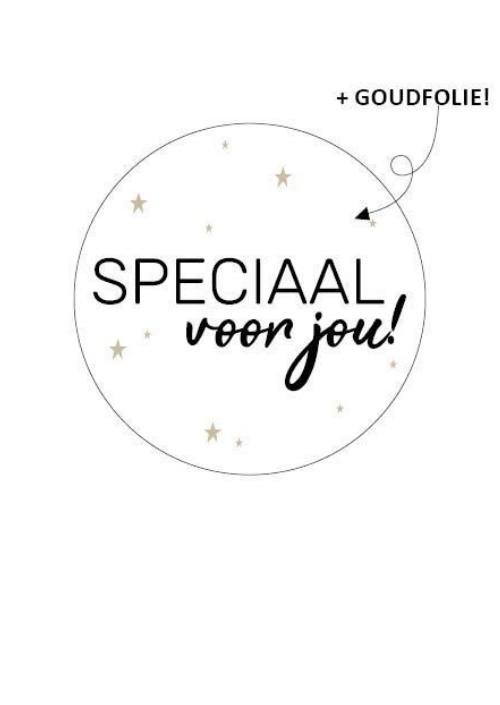 Sticker Speciaal voor jou