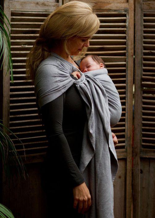 Ringsling Pure Baby Love Dark Grey