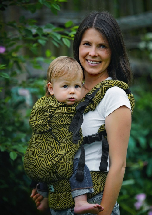 Little Frog Toddler Carrier Golden Cube
