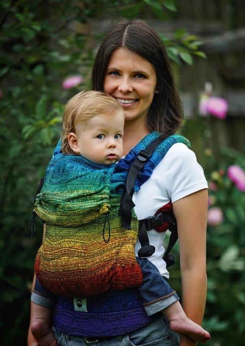 Little Frog Toddler Carrier Rainbow Harmony