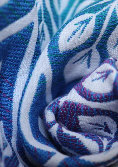 Ringsling Yaro La Vita Puffy Peacock Rainbow