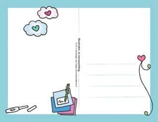 Postkaart In Verwachting