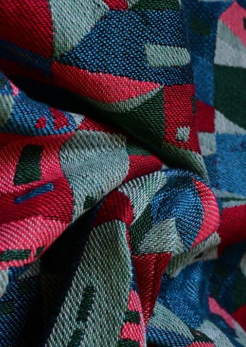 Ringsling Yaro Hallstatt Spongy Red Green Blue Modal