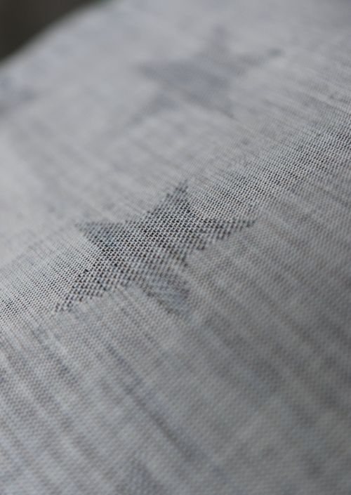Yaro Stars Lite Navy Grey Random Linen