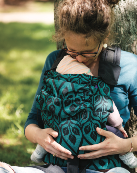 Yaro Flex Baby Carrier La Vita Emerald Black