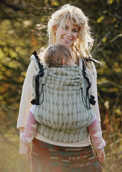 Little Frog XL Toddler Carrier Green Pines